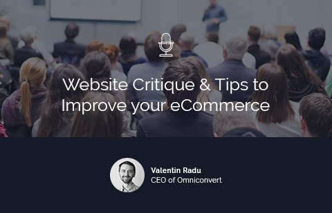 Live Critique Webinar: New ideas for your ecommerce website